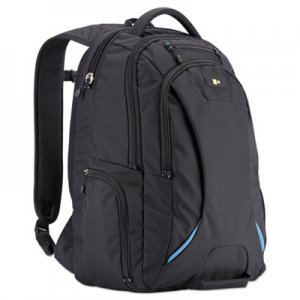 "Case Logic 15.6"" Checkpoint Friendly Backpack, 2.76"" x 13.39"" x 19.69"", Polyester, Black CLG3203772 3203772"