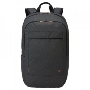 "Case Logic Era 15.6"" Laptop Backpack, 9.1"" x 11"" x 16.9"", Gray CLG3203697 3203697"