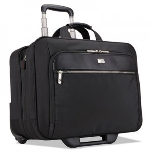 "Case Logic 17"" Checkpoint Friendly Rolling Laptop Case, 17.9"" x 10.6"" x 14.8"", Black CLG3200943 3200943"