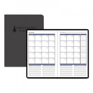 House of Doolittle Productivity and Goal Non-Dated Planner, 6 1/4 x 9 1/4, Blue HOD59799 597-99
