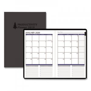 House of Doolittle Productivity and Goal Planner, 6 1/4 x 9 1/4, Blue, 2019 HOD29799 297-99