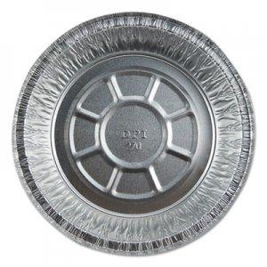 "Durable Packaging Aluminum Round Containers, 7"" Dia., 20 Gauge, 500/Carton DPK2702550X 2702550X"