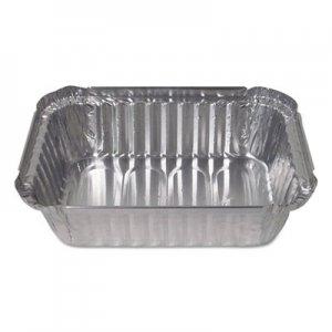 Durable Packaging Aluminum Closeable Containers, 1.5 lb Deep Oblong, 500/Carton DPK24530500 24530500