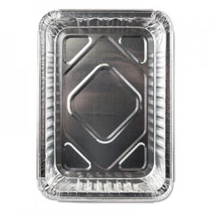 Durable Packaging Aluminum Closeable Containers, 1.5 lb Oblong, 500/Carton DPK23030500 23030500