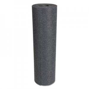 """HOSPECO SureGrip Absorbent Adhesive Floor Mat, Indoor/Outdoor, 34"""" x 50 ft, Gray HOSASSG3450G AS-SG-3450-G"""