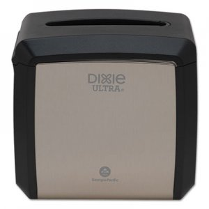 "Dixie Tabletop Napkin Dispenser, 7.6"" x 6.1"" x 7.2"", Stainless GPC54528A 54528A"