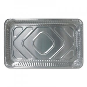 Durable Packaging Aluminum Steam Table Pans, Full Size, Medium, 50/Carton DPKFS7800XX FS7800XX