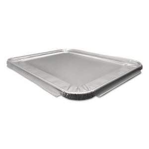 Durable Packaging Aluminum Steam Table Lids for Heavy-Duty Half Size Pan, 100 /Carton DPK8200100 8200-100