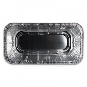 Durable Packaging Aluminum Steam Table Pans, Third Size, 5 lb. Loaf, 100/Carton DPK5200100 5200-100