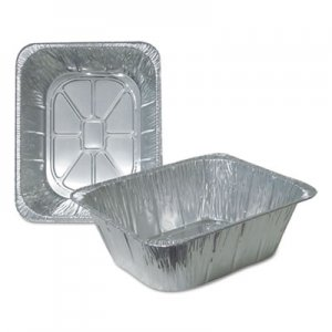 Durable Packaging Aluminum Steam Table Pans, Half Size, Extra Deep, 100/Carton DPK4288100 4288-100