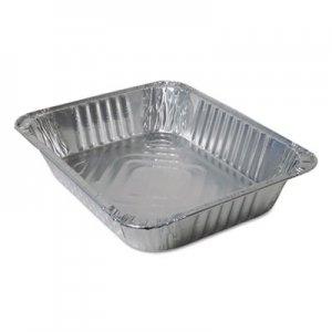Durable Packaging Aluminum Steam Table Pans, Half Size, 100/Carton DPK420045 420045