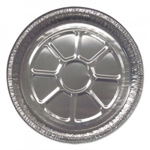 """Durable Packaging Aluminum Closeable Containers, 8"""" Dia. Round, 500/Carton DPK28030500 28030500"""