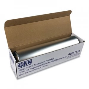 "GEN Heavy-Duty Aluminum Foil Roll, 12"" x 500 ft GEN7120 81205"