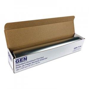 """GEN Standard Aluminum Foil Roll, 18"""" x 500 ft GEN7114 51805"""
