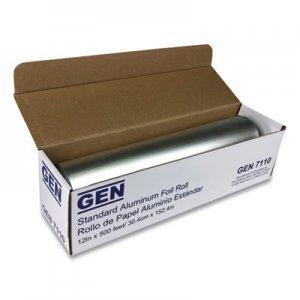 """GEN Standard Aluminum Foil Roll, 12"""" x 500 ft GEN7110 51205"""