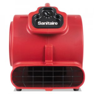 Sanitaire DRY TIME Air Mover, 3758 fpm, Red, 20 ft Cord EURSC6056A SC6056A