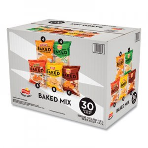 Frito-Lay Baked Variety Pack, BBQ/Cheddar & Sour Cream/Classic/Sour Cream & Onion, 30/Box LAY92268 92268