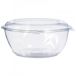 Dart Tamper-Resistant, Tamper-Evident Bowls with Dome Lid, 64 oz, Clear, 100/Carton DCCCTR64BD CTR64BD
