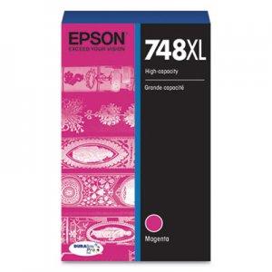 Epson T748XL320 (748XL) DURABrite Pro High-Yield Ink, 4000 Page-Yield, Magenta EPST748XL320 T748XL320