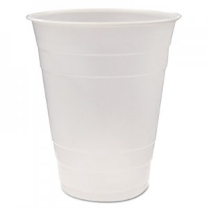 Pactiv Translucent Plastic Cups, 16 oz, Clear, 80/Pack, 12 Packs/Carton PCTYE160 YE160