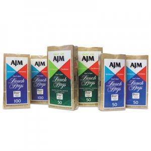 "Genpak Standard Paper Lunch Bags, 5.13"" x 10.38"", Kraft, 1,200 Bags BAGLB24LAJ LB24LAJ"