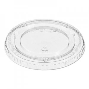 Dart Lids for Solo Ultra Clear Cups, Fits 9-22 oz. Cups, Clear, 1000/Carton DCC662TP 662TP