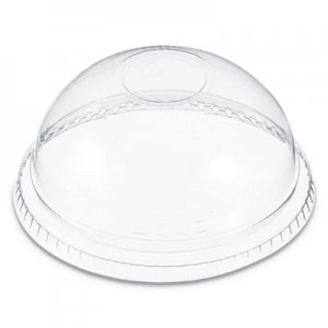 Dart Plastic Dome Lid, Fits 6-22 oz. Cups, Clear, 1000/Carton DCCDNR662 DNR662