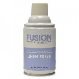 Fresh Products Fusion Metered Aerosols, Linen Fresh, 6.25 oz, 12/Carton FRSMA12LF FRS MA12LF