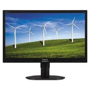 "Philips B-Line Brilliance Widescreen LCD Monitor, Power Sensor, 22"" PSP220B4LPCB 220B4LPCB"