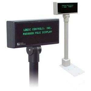 Logic Controls PD3200 Pole Display PD3200-BK PD3000