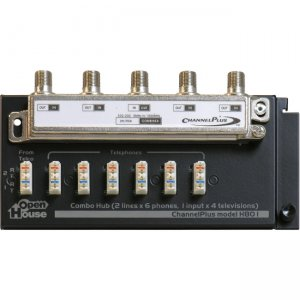 Linear PRO Access Combination Telephone/TV Hub H801