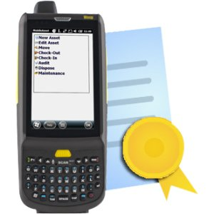 Wasp HC1 (QWERTY) Mobile Computer +Add Inventory Control Mobile License 633808342203