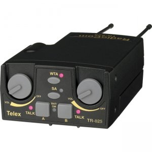 RTS UHF Two-Channel Binaural Wireless Beltpack TR-825-H25 TR-825