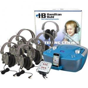 Hamilton Buhl Basic Bluetooth/CD/FM Listening Center 6 stations WNC/HB100BT/6SV