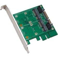 """SYBA 3.5"""" SATAIII to Dual mSATA RAID Adapter SY-ADA40101"""