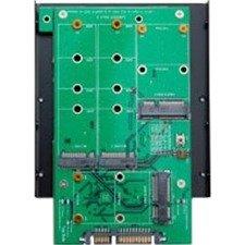 "SYBA 3.5"" SATA III to m.2 / mSATA SSD RAID Adapter SY-ADA40103"