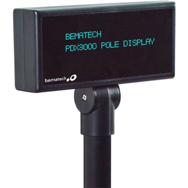 Bematech Pole Display PDX3000-PT-BK PDX3000