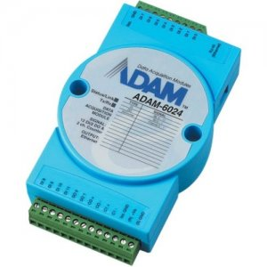 B+B 12-channel Universal Input Output Module ADAM-6024