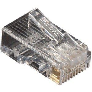 Black Box CAT5e Modular Plug - Unshielded, 10-Pack FMTP5E-10PAK