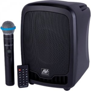 AmpliVox Wireless Portable Media Player PA System SW725