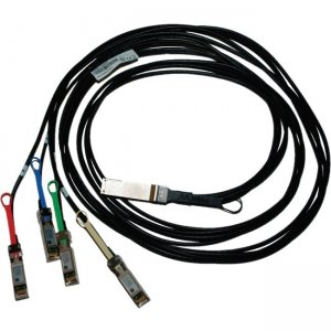 Mellanox 100GbE to 4x25GbE (QSFP28 to 4xSFP28) Direct Attach Copper Splitter Cable MCP7F00-A01AR