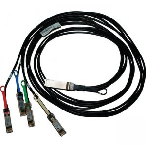 Mellanox 100GbE to 4x25GbE (QSFP28 to 4xSFP28) Direct Attach Copper Splitter Cable MCP7F00-A002R