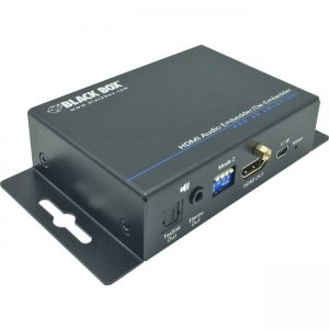 Black Box Audio Embedder/De-embedder - HDMI 2.0 AEMEX-HDMI-R2