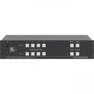 Kramer 4x2 4K60 4:2:0 HDMI Automatic Matrix Switcher 20-801220190 VS-42UHD