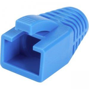 Black Box Snagless Boot - 8.0-mm, Blue, 50-Pack FMT8717