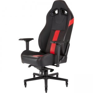 Corsair T2 ROAD WARRIOR Gaming Chair - Black/Red CF-9010008-WW