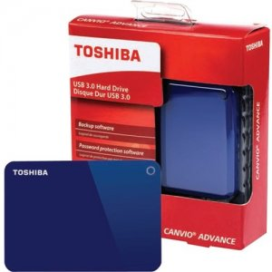 Toshiba Canvio Advance Portable External Hard Drive HDTC910XL3AA