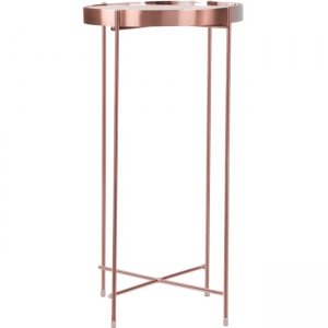 urb SPACE Ritz Side Table (Tall) - Rose Gold 82008012