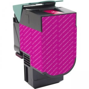 V7 Magenta Toner Cartridge for Select Lexmark Printers - Replaces 70C1HM0 V770C1HM0