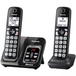 Panasonic Link2Cell Duo Cordless Phone KX-TGD562M KX-TGD562